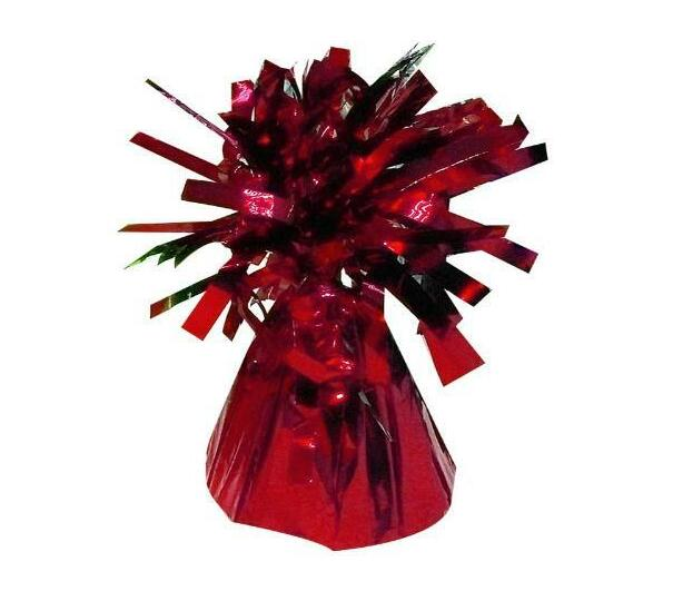 BALLOON WEIGHT PYRAMID 150G-RED 1CTL