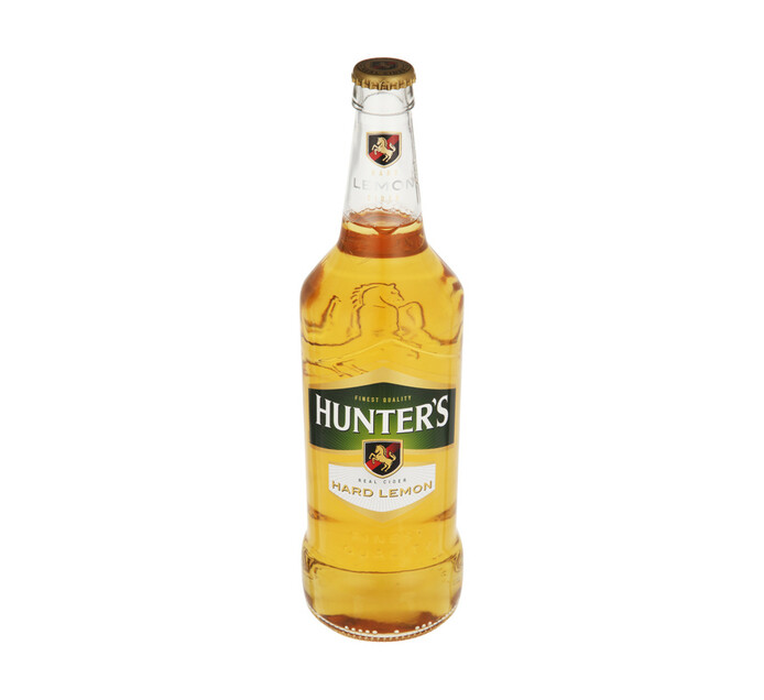 Hunters Hard Lemon RB CRT (12 x 660ml)