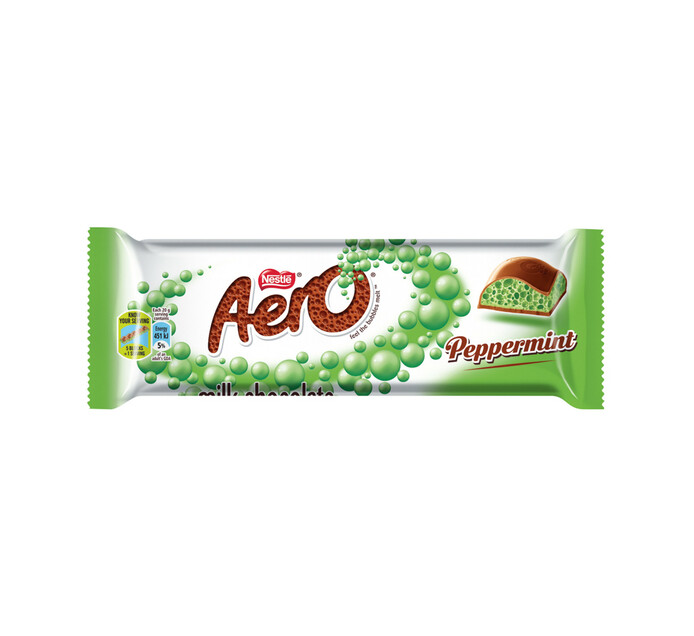Nestle Aero Chocolate Bar Peppermint (1 x 40g)