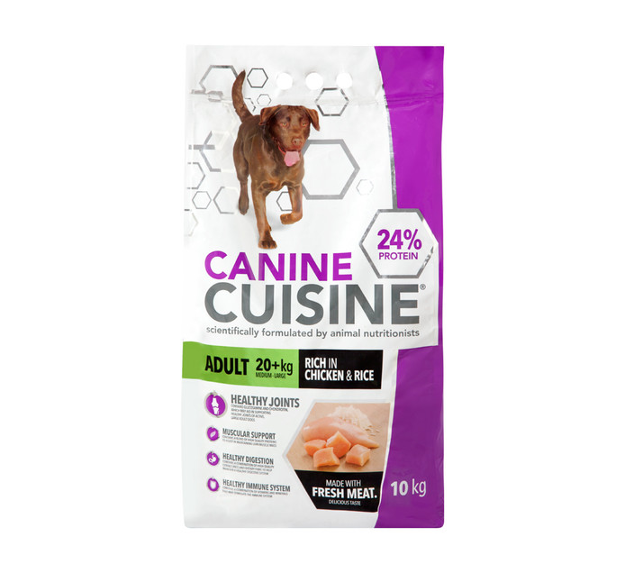 505d33e2982a CANINE CUISINE Dry Dog Food Chicken and Rice (1 x 10kg)