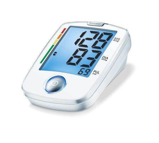 Beurer Upper Arm Blood Pressure Monitor BM 44 Blue XL Display