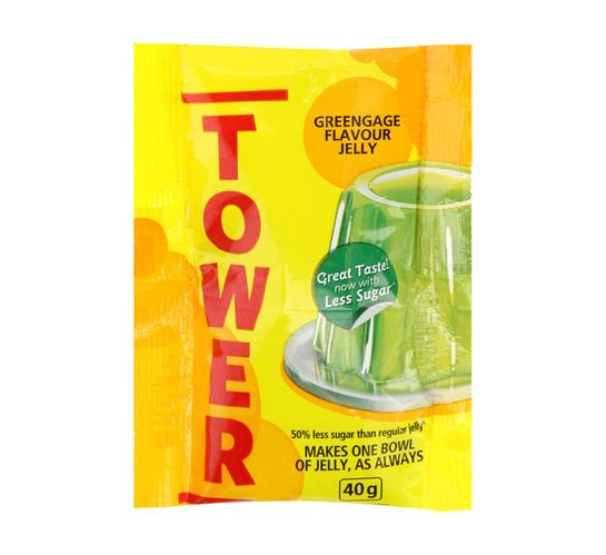Tower Jelly Sachets Assorted (36 x 40g)