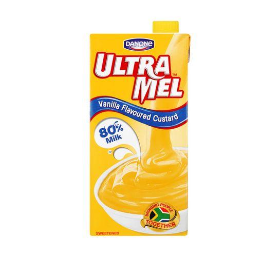 Danone Ultramel Vanilla Custard (1 x 1L)