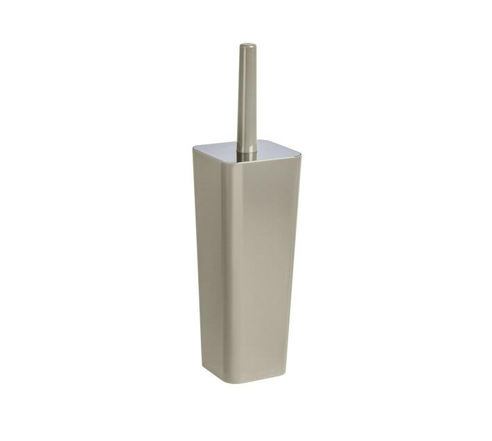 WENKO Toilet Brush - Candy Range - Taupe - Closed Form