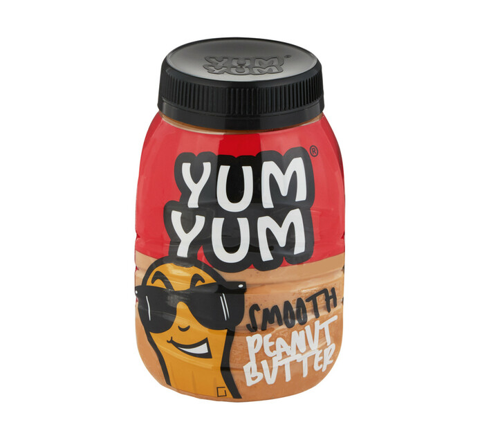 Yum Yum Peanut Butter Smooth (12  x 800g)