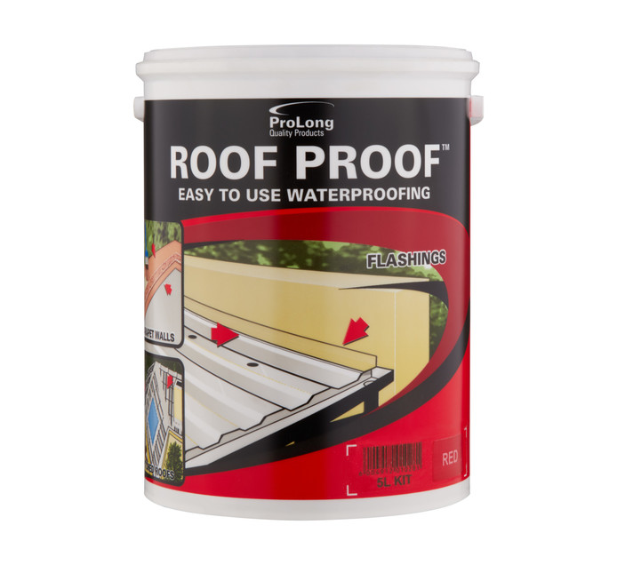 Pro-master 5L Waterproofing Sealant Red