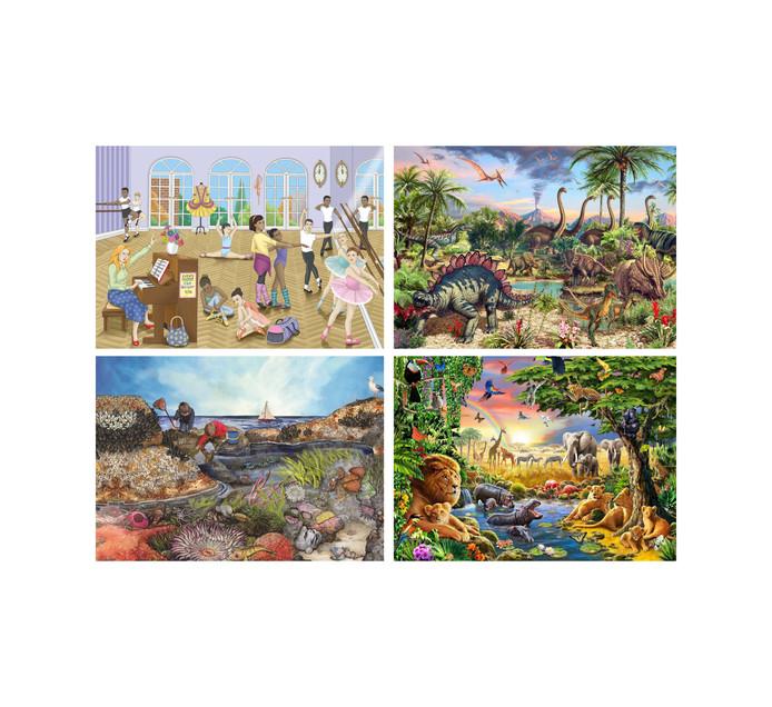 48/50-Piece Wooden Puzzle