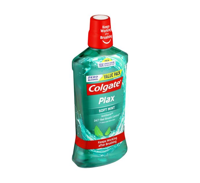 Colgate Plax Mouthwash Soft Mint (1 x 750ml)