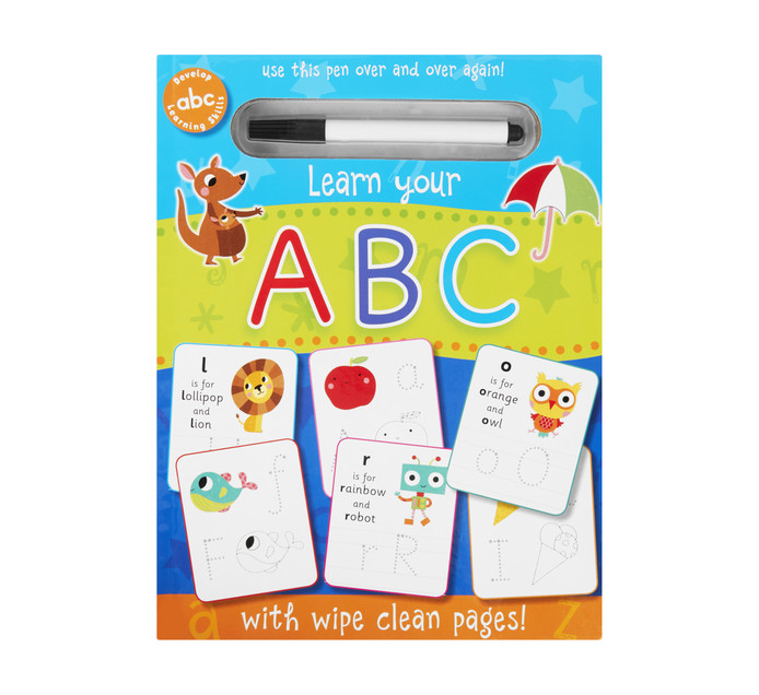Wipe Clean Abc