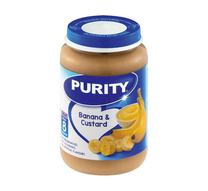 Purity 3rd Foods Banana Custard (1 x 200ML)