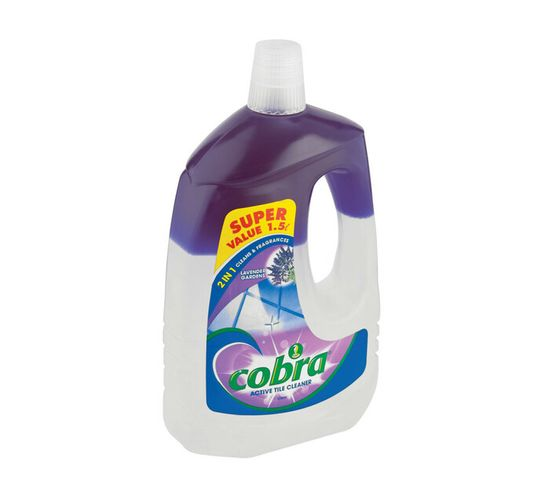 Cobra 2 in 1 Active Tile Cleaner Lavender (1 x 1.5L)