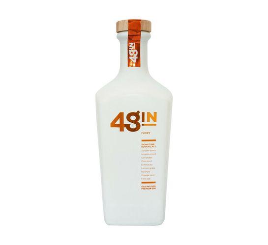 48 Oak Infused Premium Amber Gin (1 x 750 ml)