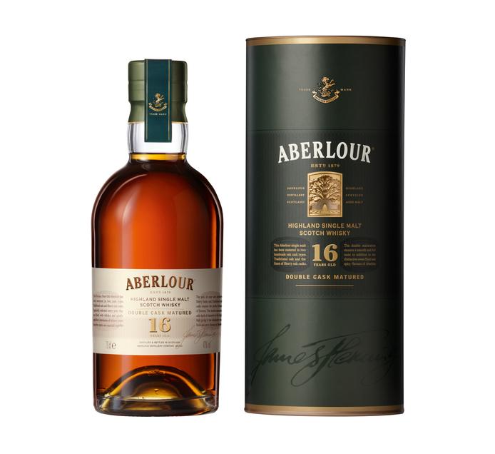 Aberlour 16 YO Single Highland Malt Scotch Whisky In Gift Tube (1 x 750ml)