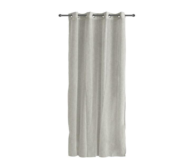 easyhome Lino Grey curtain 140 x 260cm
