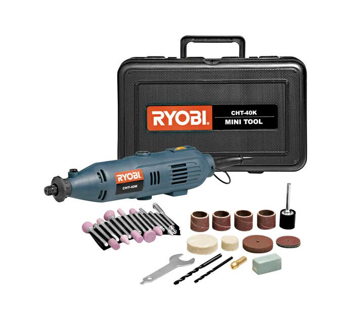 Ryobi Rotary Tool with 40 Piece Kit