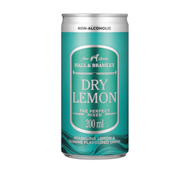 HALL & BRAMLEY DRY LEMON CAN 200ML