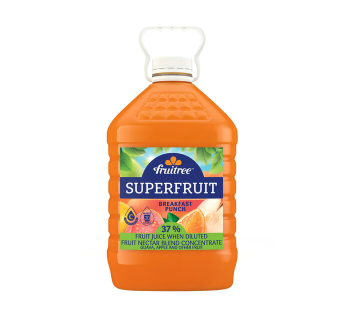 Fruitree Superfruit Breakfast Punch (1 x 4L)