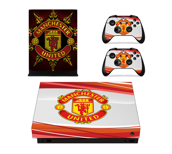 SKIN-NIT Decal Skin For Xbox One X: Manchester United (Red + White)