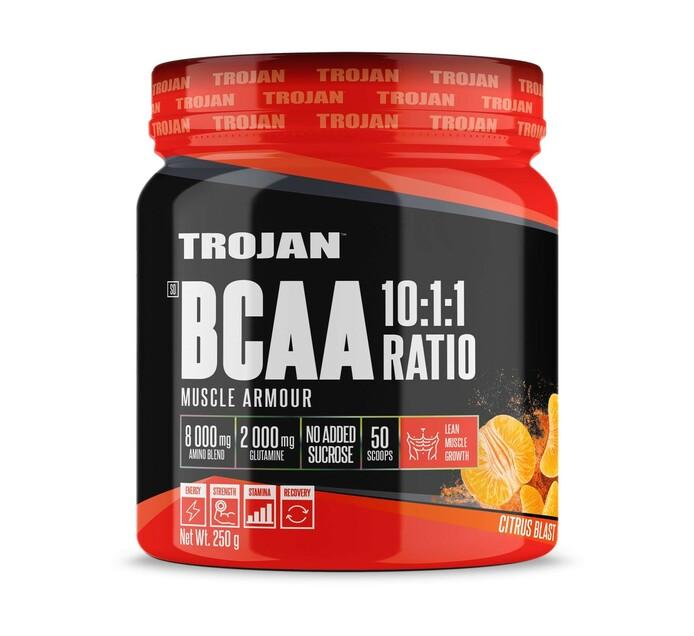 Trojan 250 g BCAA 10:1:1 Citrus Blast
