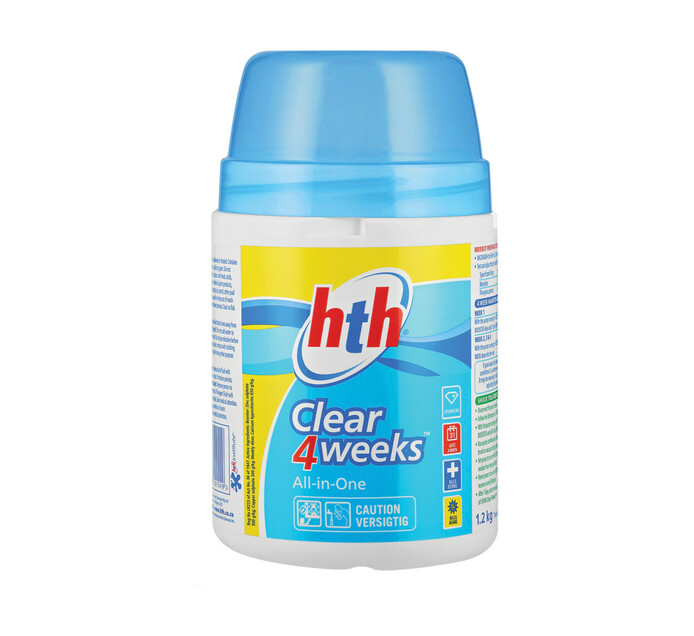 HTH 1.2 kg Clear 4 Weeks All-in-One Pool Care