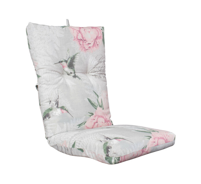 TERRACE LEISURE Hummingbird Patio Universal High Back Cushion