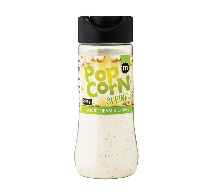 M Brand Sour Cream and Chive Popcorn Sprinkle (1 x 270g)