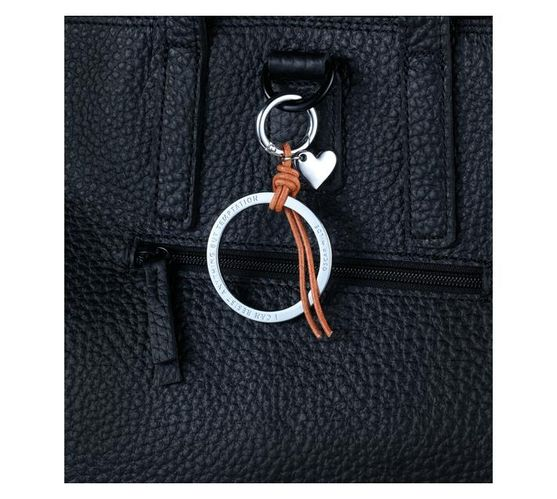 Troika Bag Charm with Two Charms Temptation Silver