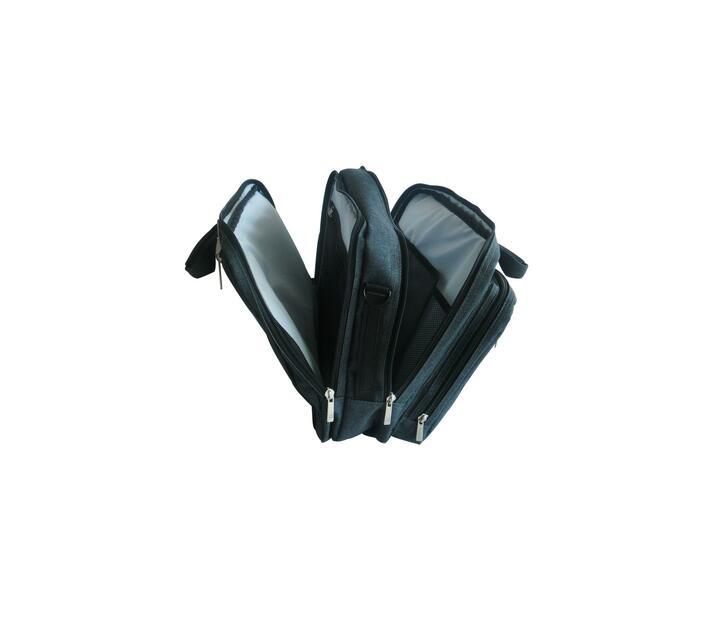 Dicallo 15.6` Messenger & Backpack Combo Laptop Bag