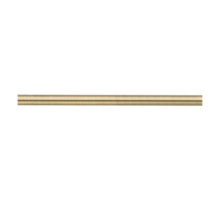 Decor Depot 25 mm Curtain Steel Rod Brushed Bronze 3.0 m