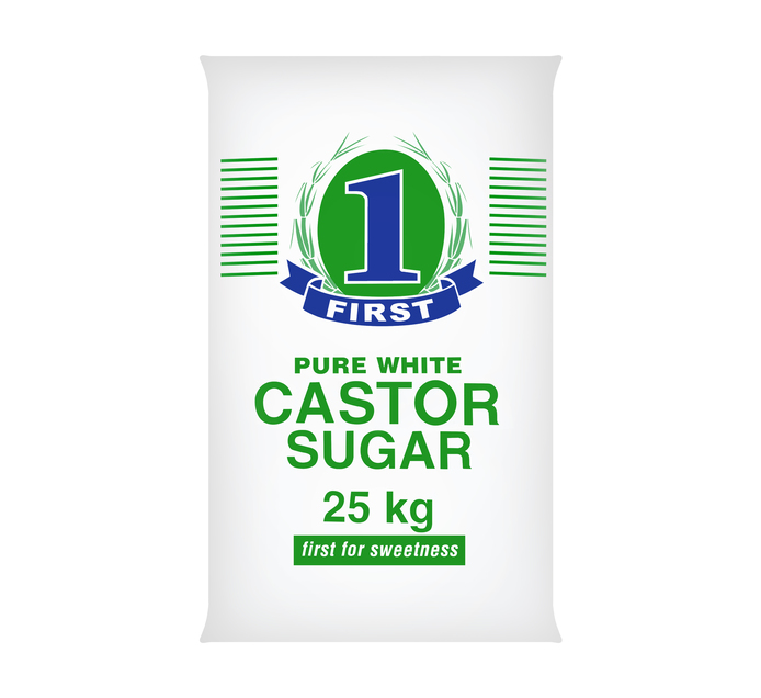 First Castor Sugar (1 x 25kg)