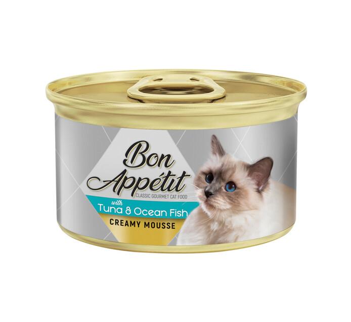 Bon Appetit Crm Cat Mousse Tuna & Ocean Fish (12x85g)