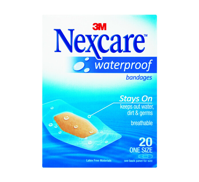 Nexcare Plasters One Size (24 x 20's)