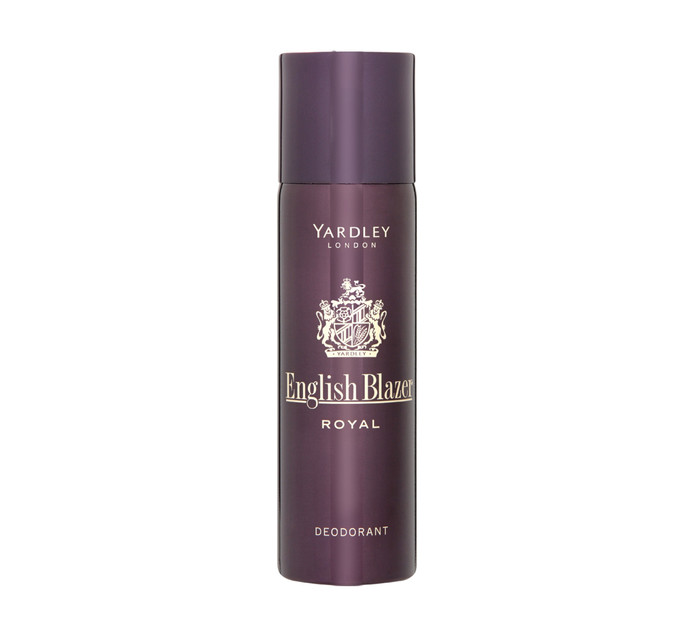Yardley Male Deodrant English Blazer Royal (6 x 125ml)