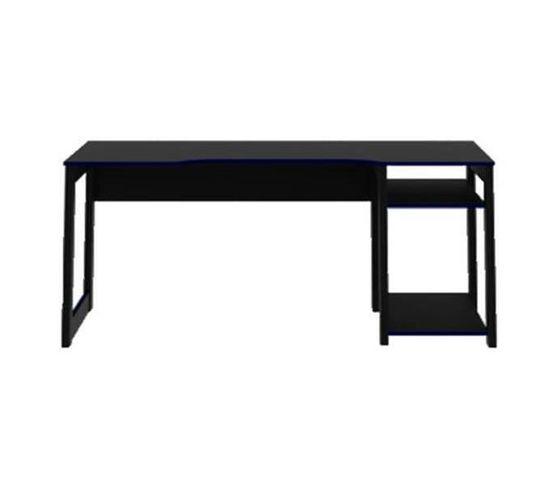 Gaming Desk Black/Blue
