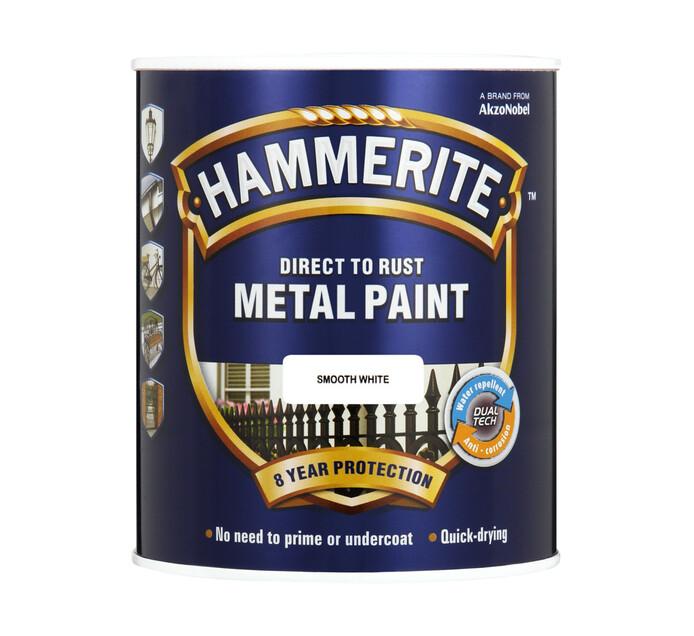 Hammerite 1L Metal Paint White