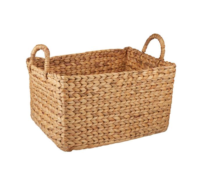 Medium Evo Hyacinth Rectangular Basket