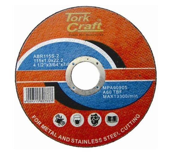 CUTTING DISC STEEL & SS 115 x 0.8 x 22.2 MM