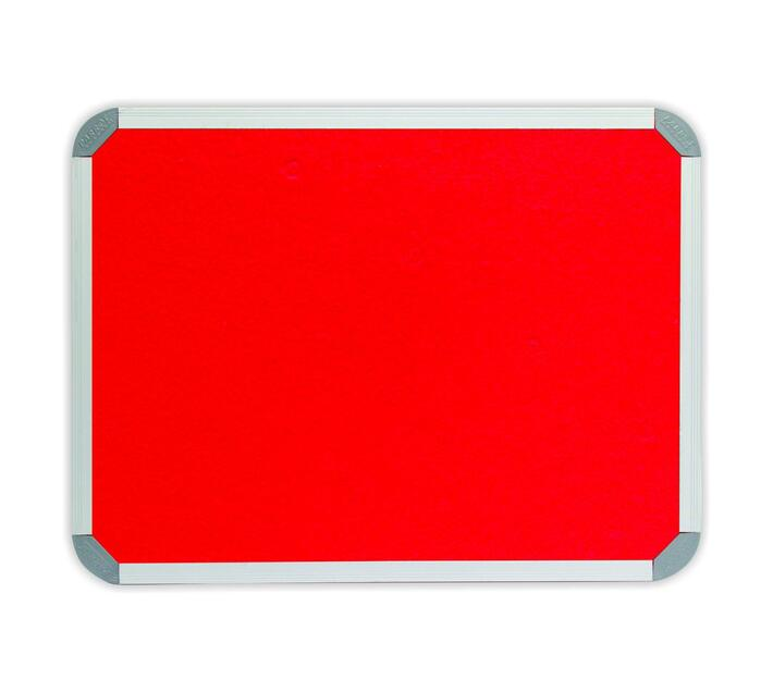 PARROT PRODUCTS Info Board Aluminium Frame 1000*1000mm Red