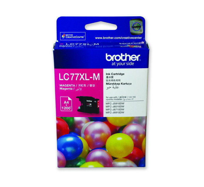 BROTHER 77XL Magenta Ink Cartridge