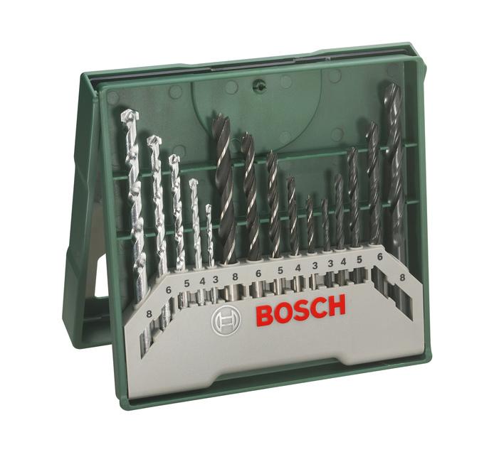 BOSCH 15 PC X-line Drill Bit Sets