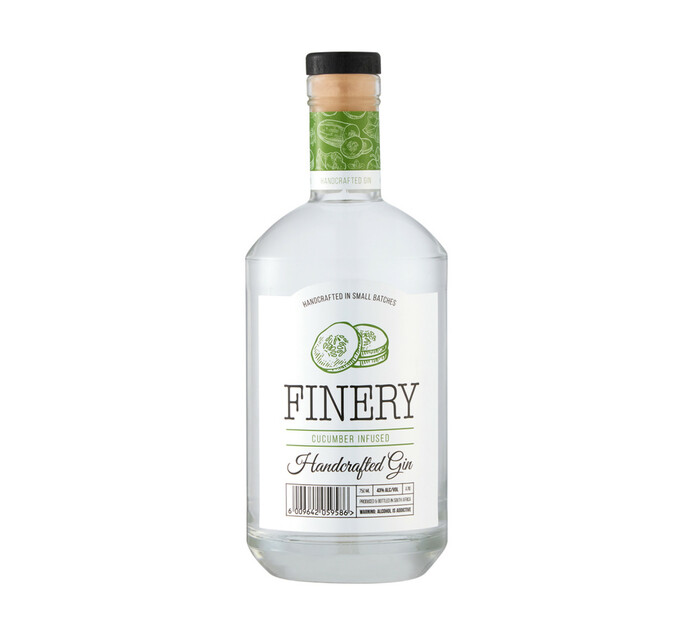 Finery Cucumber Infused Gin (1 x 750ml)