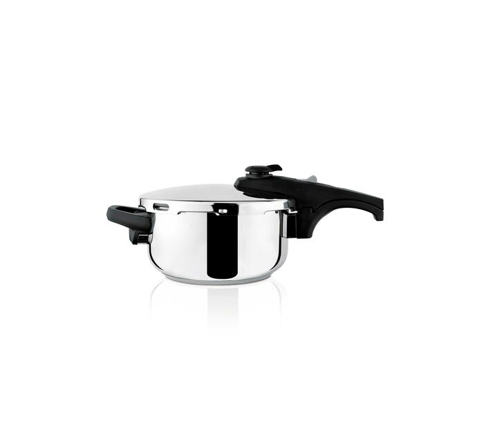 Pressure Cooker With Valve Pressure Controller Stainless Steel 4l `Ontime Rapid`