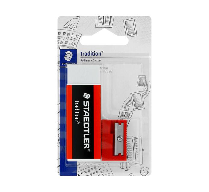 Staedtler Tradition Eraser & Sharpener Set