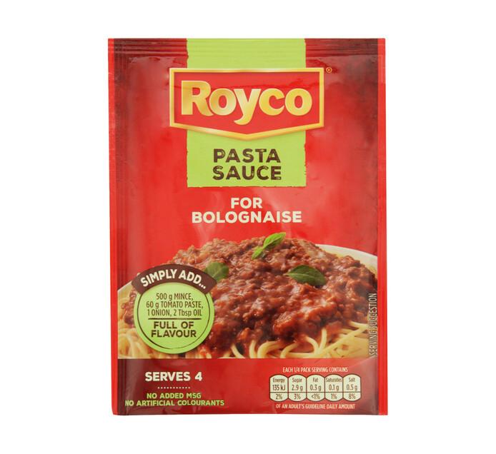 ROYCO DRY PASTA SAUCE 37G, BOLOGNAISE