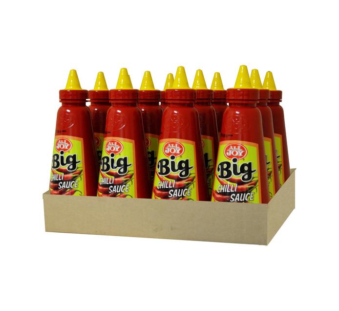 All Joy Big Squeeze Sauce Chilli (12 x 500ml)