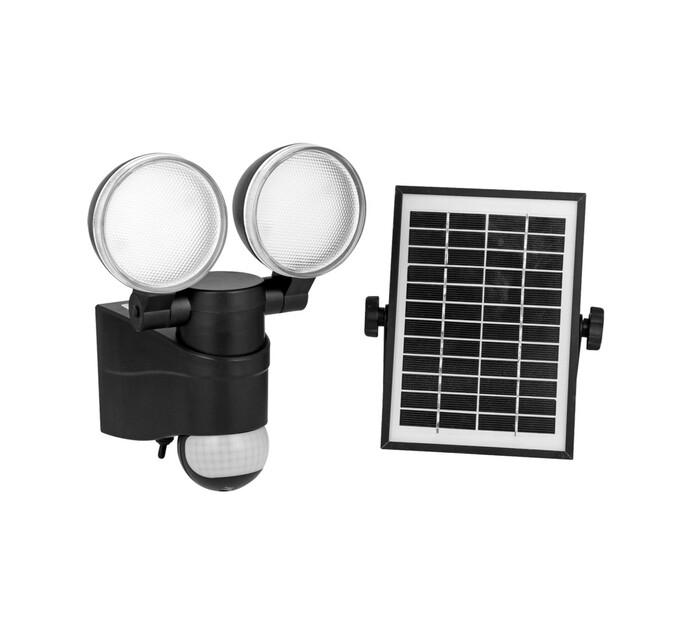 Dual Head Solar Security Light