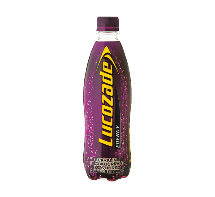 Lucozade Energy Drink Black Current (6 x 500ml)