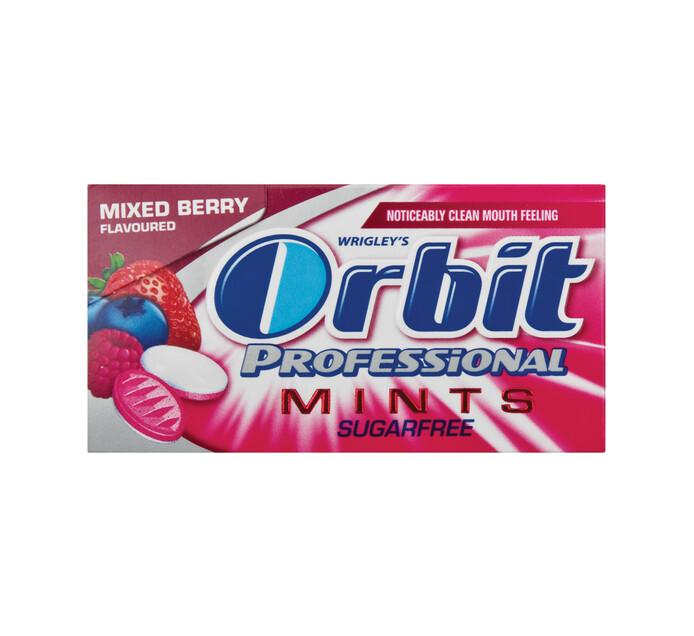 Orbit Mints Sugar Free Mixed Berry (1 x 18g)
