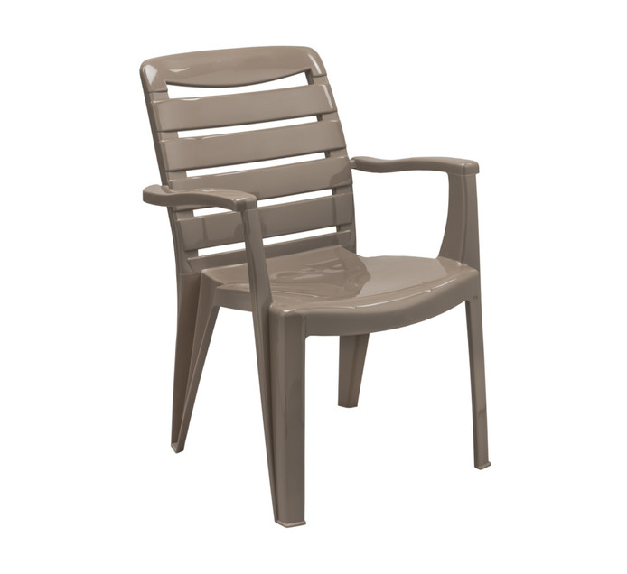 Contour Mia High Back Chair Resin Chairs Resin Patio Furniture