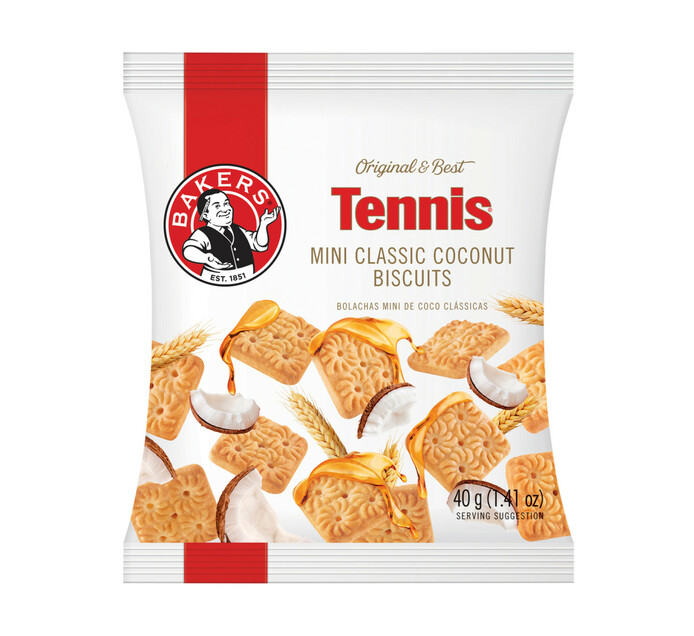 Bakers Mini Biscuits Tennis (24 x 40g)